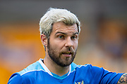 Richard Foster (#19) of St Johnstone FC during the Ladbrokes Scottish Premiership match between St Johnstone and Motherwell at McDiarmid Stadium, Perth, Scotland on 11 May 2019.