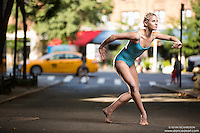 Dance As Art Photography Project- Minetta Lane West Village New York City featuring dancer, Erika Citrin
