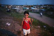 slum inhabitants in Colombia