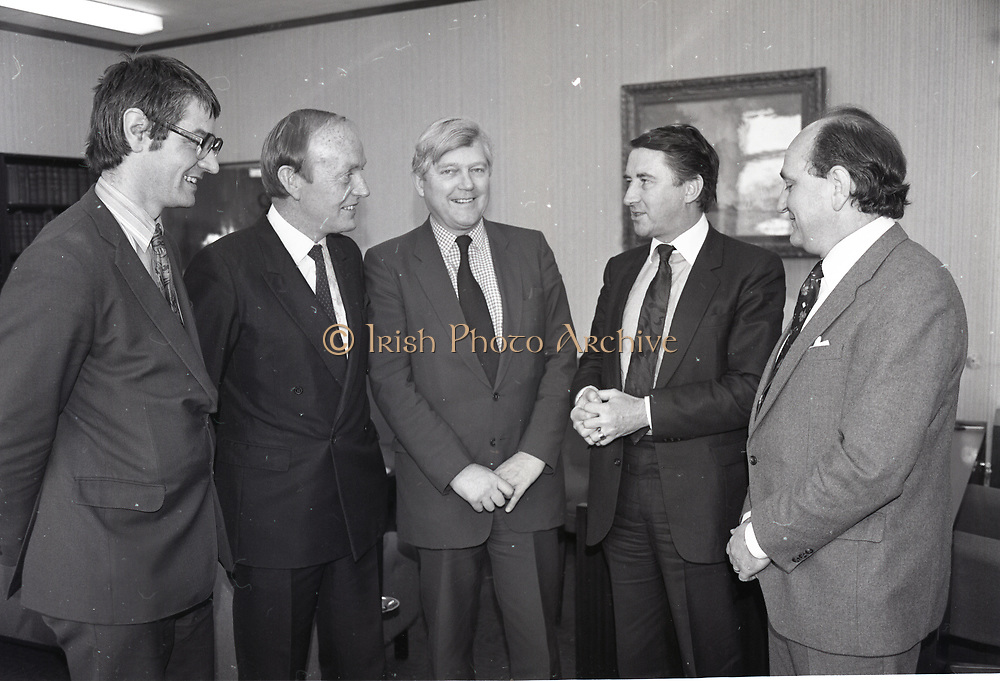 Irish politicians,<br /> 17th May 1984