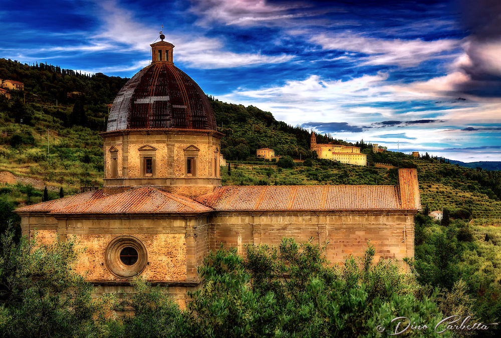 """The church of Santa Maria delle Grazie Calcinaio – Cortona""…<br />
