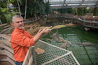 "20 years ago,"" the Crocodile Farm of Pierrelatte"" was opened by Eric and Luc Fougeirol. This site has seen several million visitors, making it the most visited tourist site in the Drôme and the second in Rhône-Alpes.