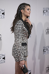 November 20, 2016 - Los Angeles, California, U.S - Nina Dobrev on the Red Carpet of the 2016 American Music  Awards held on Sunday, November 20, 2016 at the Microsoft  Theatre in Los Angeles, California. (Credit Image: © Prensa Internacional via ZUMA Wire)