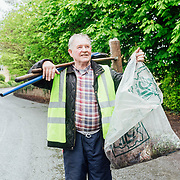 14.04.2017<br /> Europe&rsquo;s biggest ever one-day clean-up took place in Limerick today, Friday 14 April. Over 16,500 people took to the streets of Limerick city and county to take part in the occasion.<br /> Pictured taking part in the Team Limerick Clean-Up in Adare was Tom Reidy.<br /> Pic. Brian Arthur/ Alan Place Photography