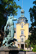 Schloss Bueckeburg, Weserbergland, Niedersachsen, Deutschland.| .Schloss Bueckeburg, Weserbergland, Lower Saxony, Germany.