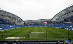 General view of the AMEX Stadium prior to kick off - Photo mandatory by-line: Harry Trump/JMP - Mobile: 07966 386802 - 14/03/15 - SPORT - Football - Sky Bet Championship - Brighton v Wolves - Amex Stadium, Brighton, England.