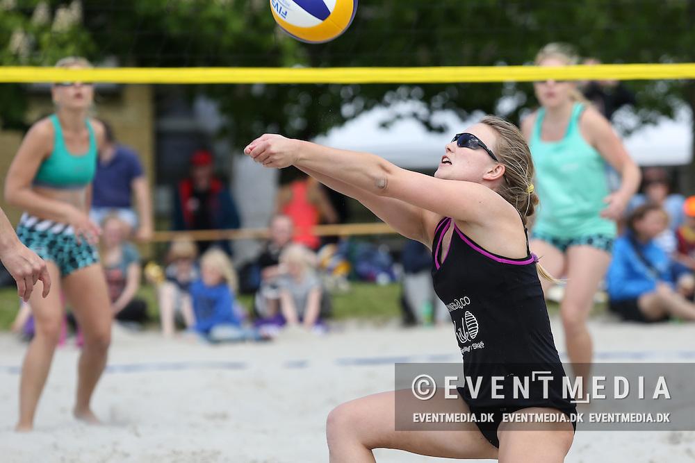 Beachvolley: Odense Grand Slam on the Danish Beachvolley Tour 2015, 6.6.2015 in Odense, Denmark.