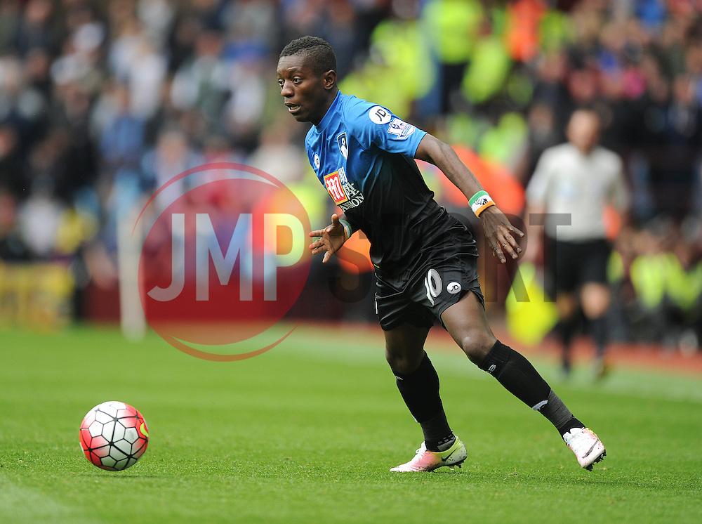 Max Gradel of Bournemouth - Mandatory by-line: Alex James/JMP - 09/04/2016 - FOOTBALL - Villa Park - Birmingham, England - Aston Villa v AFC Bournemouth - Barclays Premier League