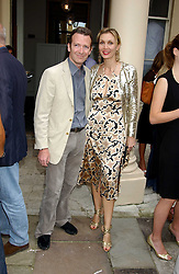 ASHLEY & ALLEGRA HICKS at the Tatler Summer Party in association with Moschino at Home House, 20 Portman Square, London W1 on 29th June 2005.<br /><br />NON EXCLUSIVE - WORLD RIGHTS