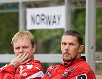 coach Jan Roar Saltvik. Norway-Sweden, WU17 Four Nation's Tournament. Eerikkilä, Finland, 25.5.2007. Photo: Jussi Eskola