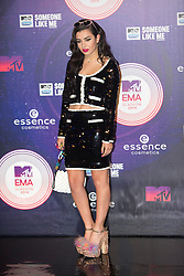 Charli XCX. Red carpets arrivals at the MTV EMA's 2014 at The Hydro on November 9, 2014 in Glasgow, Scotland.