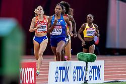 10-08-2017 IAAF World Championships Athletics day 7, London<br /> Sanne Verstegen NED (800m) plaatst zich voor de halve finale op de 800 meter