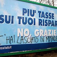 Le promesse di Berlusconi