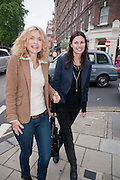 MARYAM D'ABO; KLAARJE OUIRJNS, The Pimlico Road Summer party. London SW1. 9 June 2009