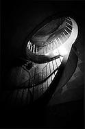 France. Paris. stairs in  Saint Sulpice church