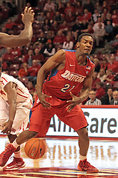 07 December 2013:  Dyshawn Pierre during an NCAA mens basketball game. The Illinois State Redbirds beat the 25th ranked Dayton Flyers 81-75 in Redbird Arena, Normal IL