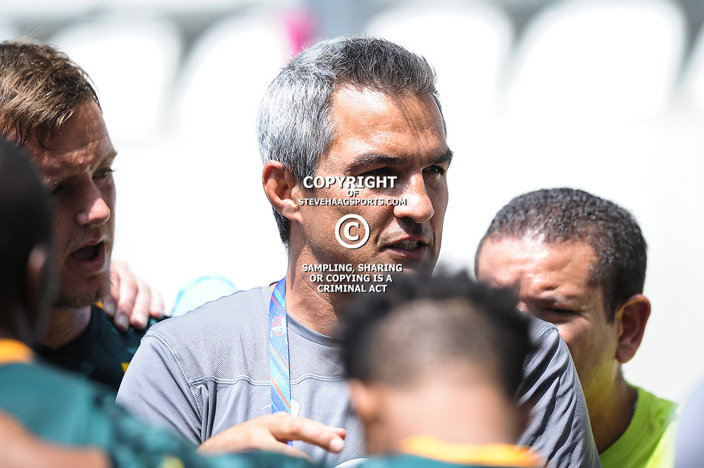 Head coach Neil Powell of South Africa during match between South Africa and Russia at the HSBC Paris Sevens, stage of the Rugby Sevens World Series at Stade Jean Bouin on June 9, 2018 in Paris, France. (Photo by Sandra Ruhaut/Icon Sport)