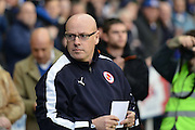 Reading's Manager Brian McDermott during the Sky Bet Championship match between Reading and Blackburn Rovers at the Madejski Stadium, Reading, England on 3 December 2015. Photo by Mark Davies.