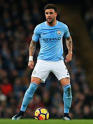 Kyle Walker of Manchester City - Mandatory by-line: Matt McNulty/JMP - 10/02/2018 - FOOTBALL - Etihad Stadium - Manchester, England - Manchester City v Leicester City - Premier League