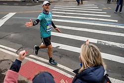 05-11-2017 USA: NYC Marathon We Run 2 Change Diabetes day 3, New York<br /> De dag van de marathon, 42 km en 195 meter door de straten van Staten Island, Brooklyn, Queens, The Bronx en Manhattan / Cesare ITA