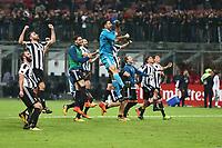 28.10.2017 - Milano - Serie A 2017/18 - 11a giornata  -  Milan-Juventus nella  foto: l'esultaza dei giocatori della Juventus a fine partita