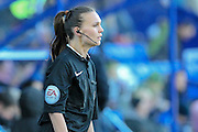 Natalie Aspinall (Assistant Referee) during the Vanarama National League match between Tranmere Rovers and Grimsby Town FC at Prenton Park, Birkenhead, England on 30 April 2016. Photo by Mark P Doherty.