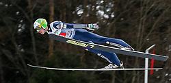 04.01.2014, Bergisel Schanze, Innsbruck, AUT, FIS Ski Sprung Weltcup, 62. Vierschanzentournee, Probesprung, im Bild oJaka Hvala (SLO) // Jaka Hvala of Slovenia during Trial Jump of 62nd Four Hills Tournament of FIS Ski Jumping World Cup at the Bergisel Schanze, Innsbruck, Austria on 2014/01/04. EXPA Pictures © 2014, PhotoCredit: EXPA/ Peter Rinderer