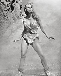 1966; One Million Years B. C.. Original Film Title: One Million Years B. C., PICTURED: RAQUEL WELCH, Director: Don Chaffey, IN CAST: Raquel Welch, John Richardson  (Credit Image: © HAMMER/Entertainment Pictures/ZUMAPRESS.com)