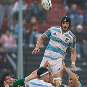 Lucas Ponce, ARgentina, in action during the Argentina V Ireland group stage match at Estadio El Coloso del Parque, Rosario, Argentina, during the IRB Junior World Championships. 13th June 2010. Photo Tim Clayton....