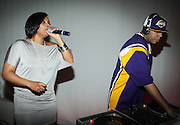 DJ Spinderlla and DJ MoDave at The Sixth Annual ESPN Pre-Draft Party held at Espace on April 24, 2009 in New York City