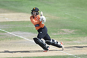 Tammy Beaumont of Southern Vipers batting during the Kia Women's Cricket Super League semi-final match between Loughborough Lightning and Southern Vipers at the 1st Central County Ground, Hove, United Kingdom on 1 September 2019.