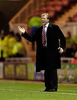 Photo: Jed Wee.<br />Middlesbrough v Dnipro. UEFA Cup. 03/11/2005.<br /><br />Middlesbrough manager Steve McClaren.