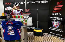 Sport TV during Day two of Sporto  2010 - Sports marketing and sponsorship conference, on November 30, 2010 in Hotel Slovenija, Portoroz/Portorose, Slovenia. (Photo By Vid Ponikvar / Sportida.com)