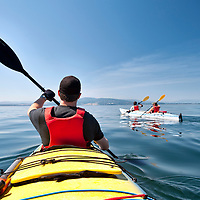 Kayaking in Gulf Islands National Park, Sidney, BC