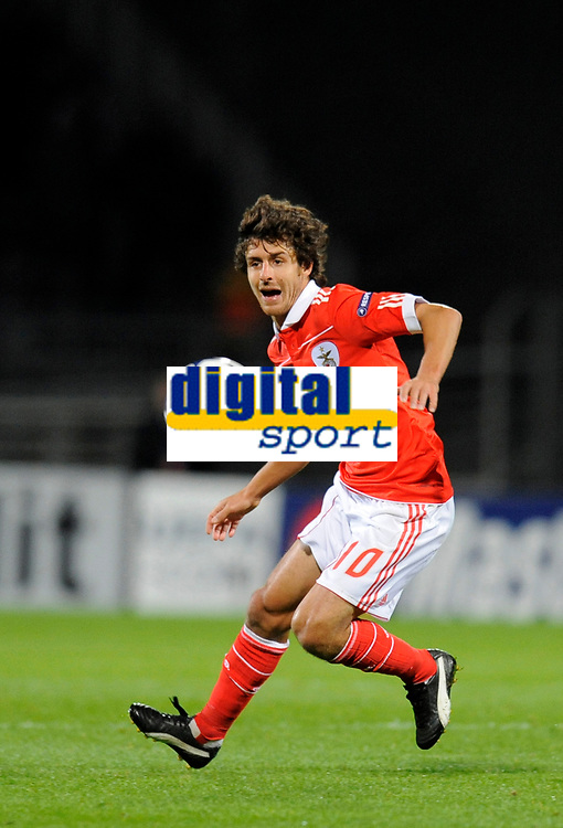 Fotball<br /> Frankrike<br /> Foto: Dppi/Digitalsport<br /> NORWAY ONLY<br /> <br /> FOOTBALL - CHAMPIONS LEAGUE 2010/2011 - GROUP STAGE - GROUP B - OLYMPIQUE LYON v SL BENFICA - 20/10/2010<br /> <br /> PABLO AIMAR (BEN)