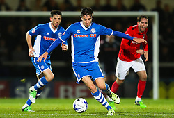 Matthew Lund of Rochdale - Mandatory byline: Matt McNulty/JMP - 07966 386802 - 20/10/2015 - FOOTBALL - Gigg Lane - Rochdale, England - Rochdale v Coventry - Sky Bet League One