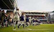 FC Københavns spillere går på banen til kampen i UEFA Europa League mellem FC København og FC Lugano den 19. september 2019 i Telia Parken (Foto: Claus Birch).