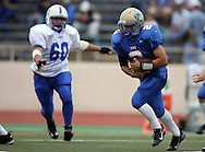 Tivy's Running Back Quincy Kibbett, Kerrville Tivy vs. Lanier, 1 p.m. Saturday, 17 Nov 07, at Alamo Stadium: Tivy dominated the game scoring 42 points in the first half and knocking Lanier out of the playoffs 52-7.