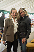 SUSANNE CHILDS; SARAH SWIDERSKI, Heythrop Point to Point, Cocklebarrow, 2 April 2017.