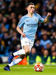Phil Foden of Manchester City - Mandatory by-line: Robbie Stephenson/JMP - 12/03/2019 - FOOTBALL - Etihad Stadium - Manchester, England - Manchester City v Schalke - UEFA Champions League, Round of 16, 2nd leg