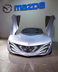 Concept Mazda Taiki sports car on display at Tokyo Motor show 2007
