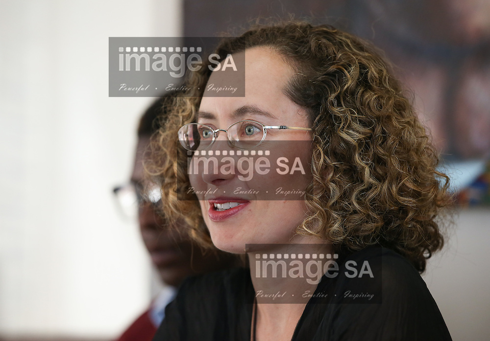 CAPE TOWN, SOUTH AFRICA - Wednesday 30 November 2016, Dr Danielle Crida, Emavundleni&rsquo;s Principal Investigator for the HVTN 702 study during the launch of a major study to test the efficacy of a vaccine to prevent HIV infection at the Emavundleni Research Centre in Old Crossroads, Cape Town. With more than 1 000 people in South Africa becoming infected with HIV each day, a successful HIV vaccine is seen as the key to ending the epidemic. This new preventive vaccine efficacy trial, called HVTN 702, is a critically important study and its start is a special moment in HIV research. HVTN 702 is the only current HIV vaccine efficacy trial in the world and is being conducted solely in South Africa. It has been seven years since the world last saw the start of an efficacy trial of an HIV vaccine. The South African study will test a modified form of the vaccine regimen used in RV144, a trial conducted in Thailand, which reported in 2009 that the candidate vaccine was 31.2% effective in preventing new HIV infections 3.5 years after first vaccination. HVTN 702 builds on the foundation of the promising Thai trial findings and seeks to increase the level of efficacy and durability of the vaccine response. If HVTN 702 is shown to be effective against new infections, this South African trial could lead to the licensing of the world&rsquo;s first HIV vaccine.<br /> Photo by Roger Sedres/ImageSA