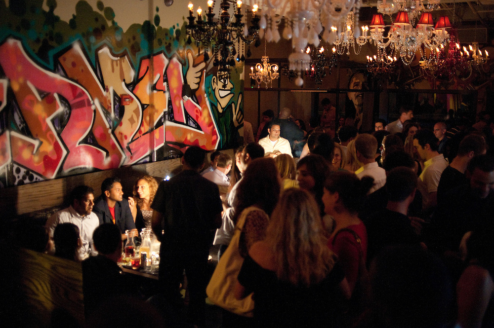 Bottle service with a sparkler twist, Policy Nightclub, Washington, DC
