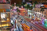 Los Angeles - Hollywood Boulevard at Night