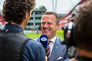 UTRECHT - 21-08-2016, FC Utrecht - AZ, Stadion Galgenwaard, 1-2, AZ trainer John van den Brom, interview, fox