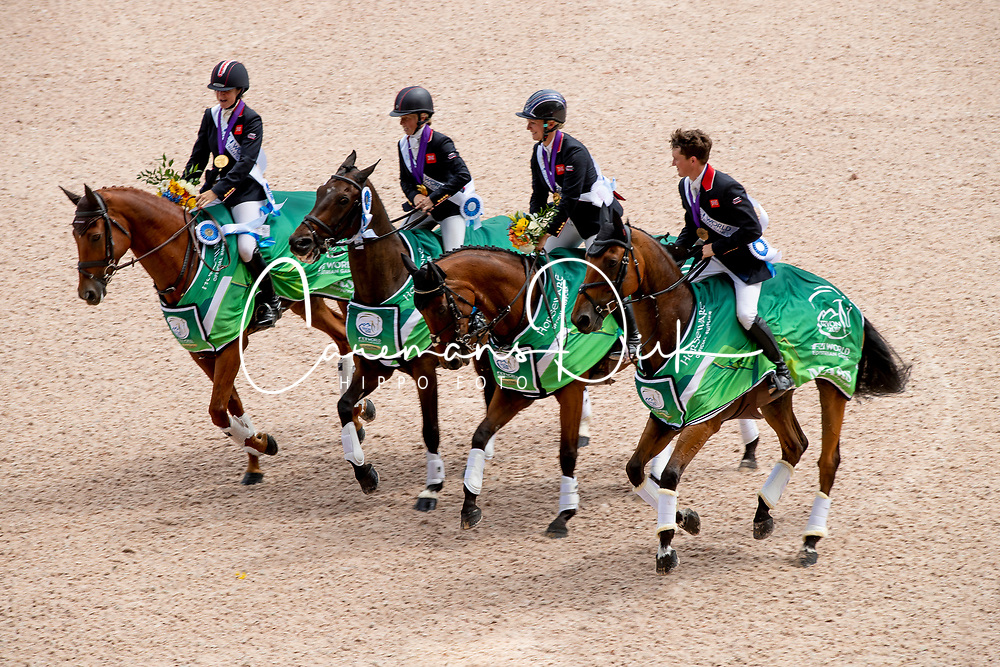 Team GBR, French Piggy, McEwen Tom, Canter Rosalind<br /> World Equestrian Games - Tryon 2018<br /> © Hippo Foto - Dirk Caremans<br /> 17/09/2018