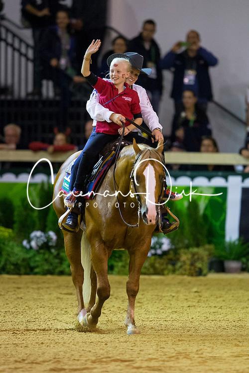 Mandy Mccutcheon, (USA), Yellow Jersey - Individual Final Comptetition - Alltech FEI World Equestrian Games™ 2014 - Normandy, France.<br /> © Hippo Foto Team - Leanjo De Koster<br /> 30-08-14