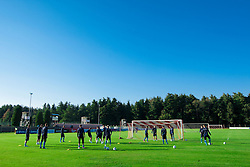 Slovenian National football team during training camp for World Cup Brasil 2014 Qualifications on October 8, 2012 in Kidricevo at Ptuj, Slovenia. (Photo By Vid Ponikvar / Sportida)