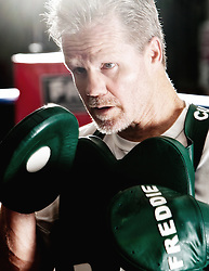 Hall of fmae trainer Freddie Roach. Exclusive Amir Khan shoot for SEEN Sport Magazine at the Wildcard Gym, Los Angeles, USA. 3rd November 2010.