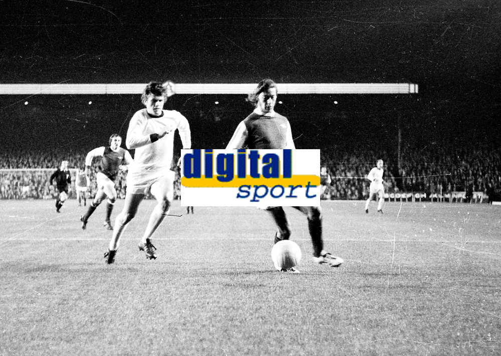 Fotball<br />Europacupen<br />Arsenal v Str&oslash;msgodset<br />Highbury London 1974<br />Foto: Digitalsport